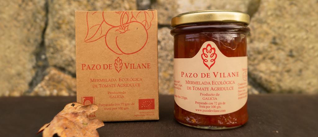 Mermelada de tomate agridulce de Pazo de Vilane