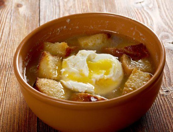 Receta sopa de ajo Pazo de Vilane