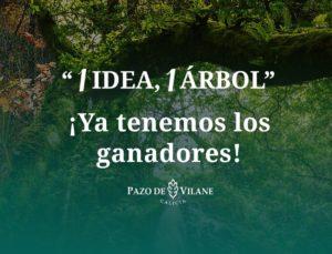 7ª Edición Una idea, 1 árbol: Y los ganadores son…