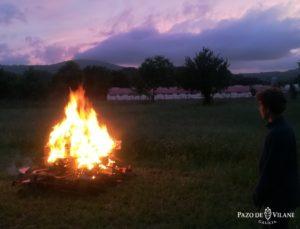 A maxia de San Xoan en Pazo de Vilane