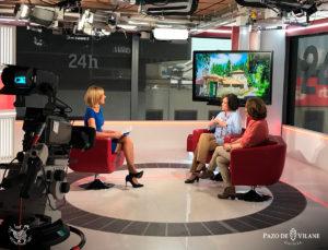 Pazo de Vilane en los medios