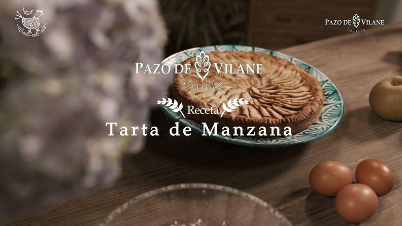 Tarta de manzana Pazo de Vilane