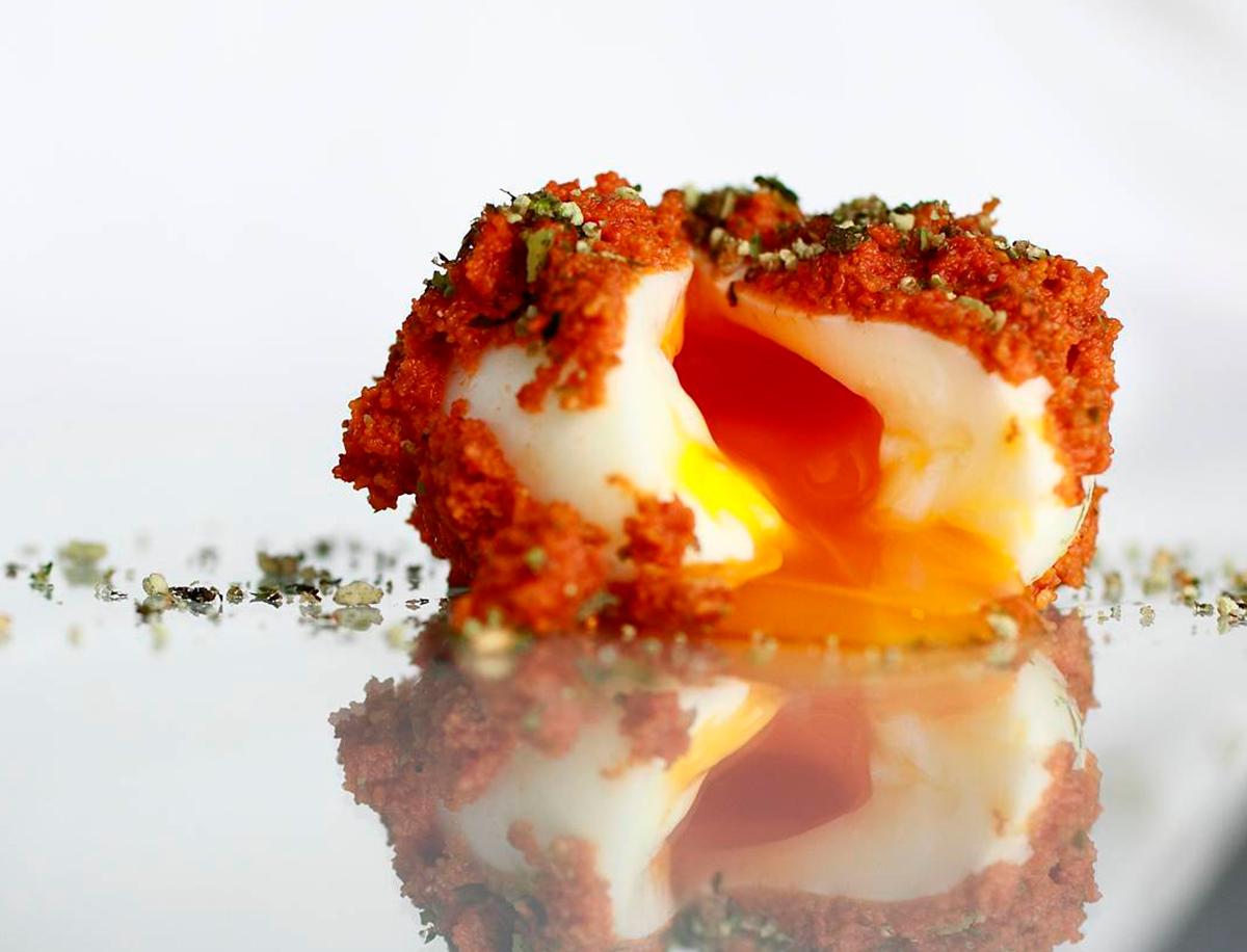 Cociñeiros galegos e ovos