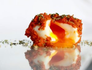 Cocineros gallegos y huevos
