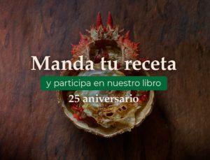 Concurso libro de Receitas 25 aniversario
